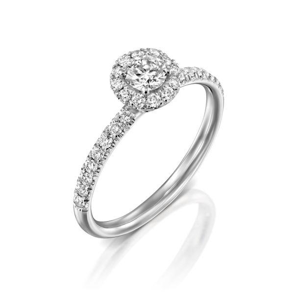 תמונה של טבעת אירוסין יוקרתית