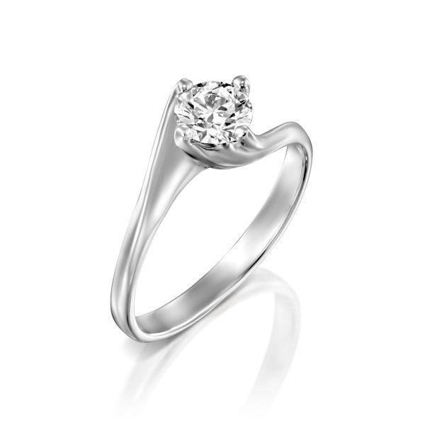 תמונה של טבעת אירוסין סוליטר