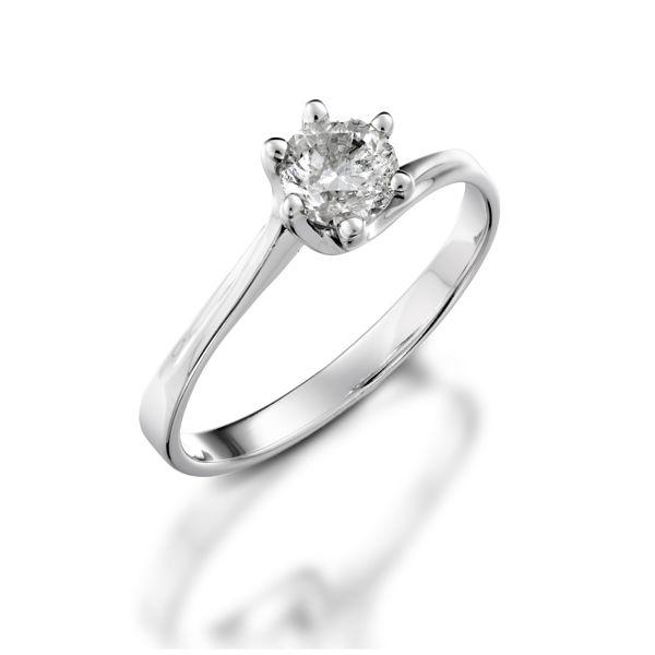 תמונה של טבעת יהלום סוליטר